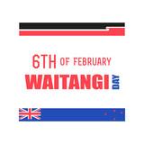 New Zealand Waitangi Day on the 6th of February. - 186835096