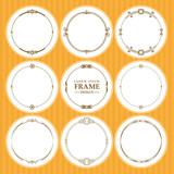 Vector round frames ...