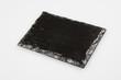 Empty Slate black serving platter