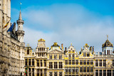 Grand Place at Brussels, Belgium - 186844400