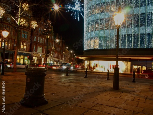 Fotobehang London City Lights