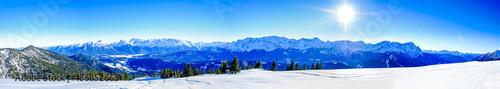 Foto Murales view from wank mountain