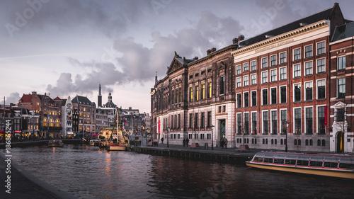 Foto op Aluminium Amsterdam Amsterdam Canal