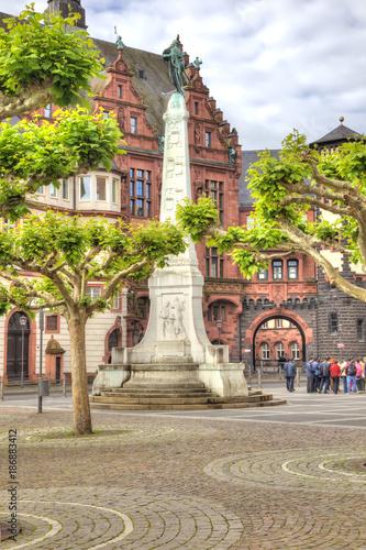 Foto Murales Frankfurt am Main. Historical center