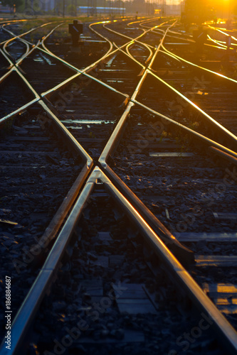 Railroad intersection
