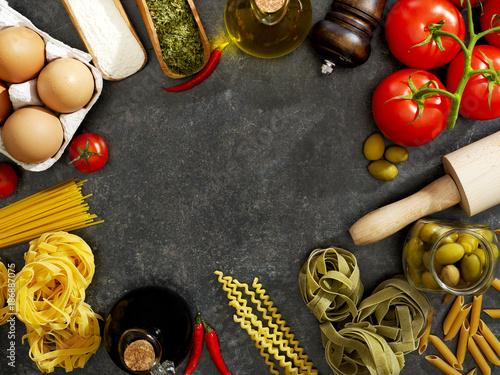 Poster Cooking ingredients