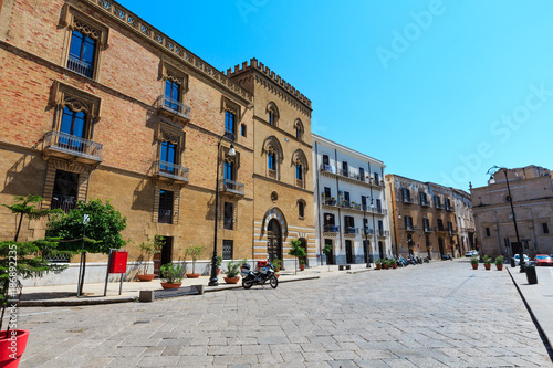 Fotobehang Palermo Palermo city view Sicily, Italy