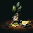 Artichokes and lemons - 186908024