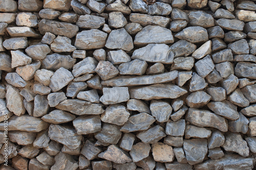Foto op Canvas Stenen Natural stone wall background