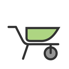 Cement Trolley Icon