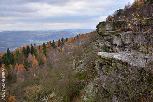Decin Snowdrop Table Mountain View Tower and views of the surrounding area Poster