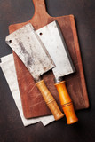 Butcher. Vintage meat knives - 186952814