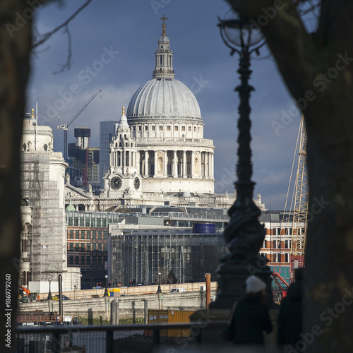 St Paul's Cathedral, London, UK - 186979260