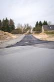 neu Straße für neues Wohngebiet