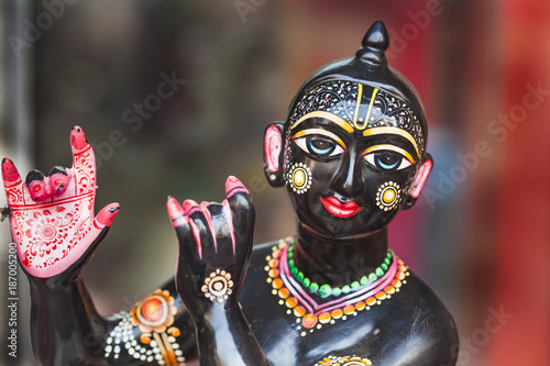 Plakát Krishna figurine