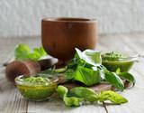 Basil pesto sauce - 187010815