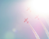 airplane parade flare - 187013065