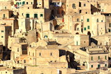 Matera, old stone houses, the oldest town in the world, Italy - 187023698