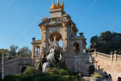 Foto op Canvas Barcelona barcelona - parc ciutadella
