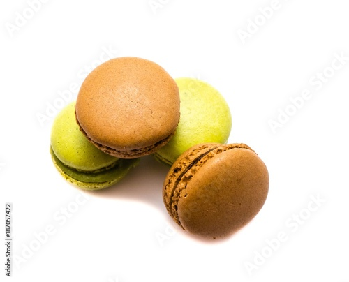 Poster Macarons Macarons isoliert