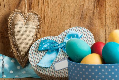 Foto Murales Color easter eggs