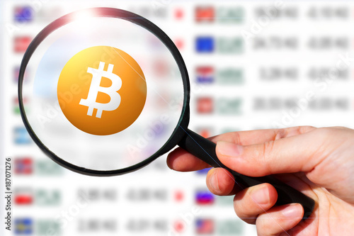 virtual money Bitcoin cryptocurrency - Bitcoins accepted here Poster