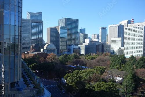 Poster Tokio ビルから見える東京の都市風景