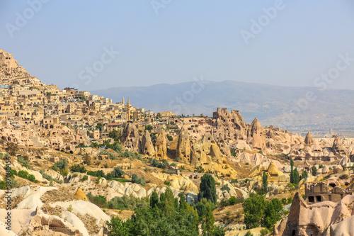 Keuken foto achterwand Beige Ancient city in the rocks