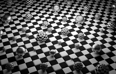 Kule na szachownicy