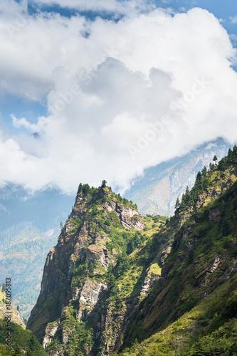Foto op Aluminium Khaki Little peak