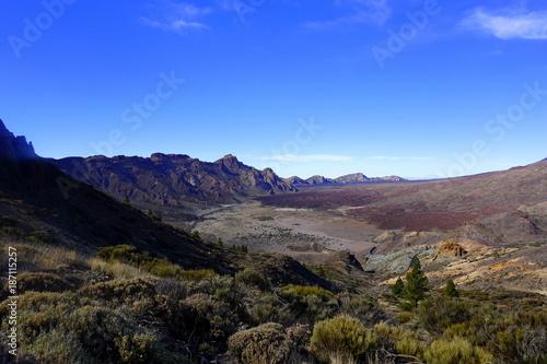 Foto op Aluminium Cappuccino el teide montana guajara teneryfa ocean