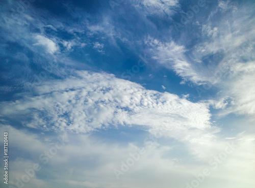 용 머리를 닮은 구름