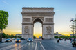 Arc de Triomphe in Paris , France