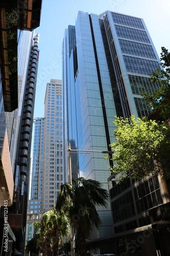 Papiers peints Sydney Skyscrapers in Sydney, New South Wales Australia