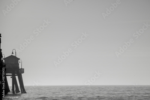 Keuken foto achterwand Zee zonsondergang silhouette