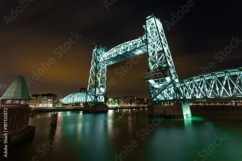 Fotobehang Rotterdam De Hef