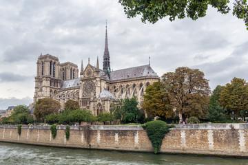 De Paris Notre Dame Cathedral in Paris. France