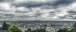 Panorama of Paris. The view of Montmartre. France