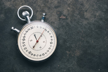old chronometer or stopwatch