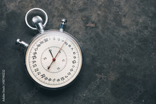 Foto Murales old chronometer or stopwatch