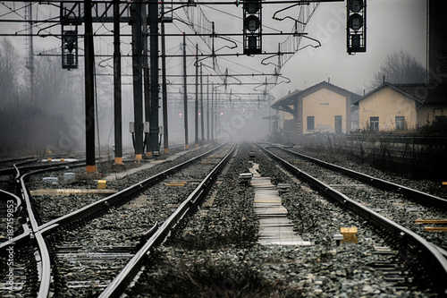 In de dag Spoorlijn Binari