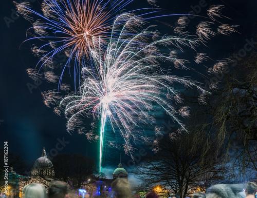 Aberdeen Fireworks Hogmanay 2018