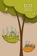 different of Environmentally Vector illustration