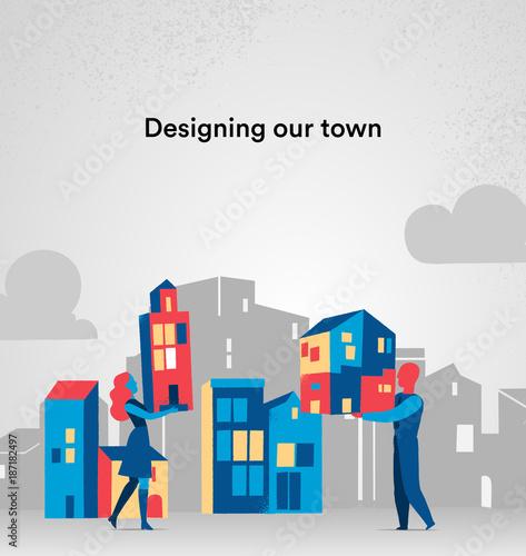 Poster Progettiamo la nostra città di domani