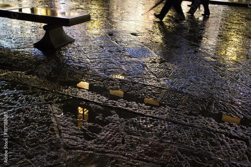 Fotobehang Florence Firenze by night