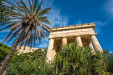 Monument to Alexander Ball in the Lower Barrakka Gardens, Valletta, Malta - 187188626