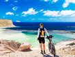 canvas print picture - Staunting at Balos Lagoone, Crete