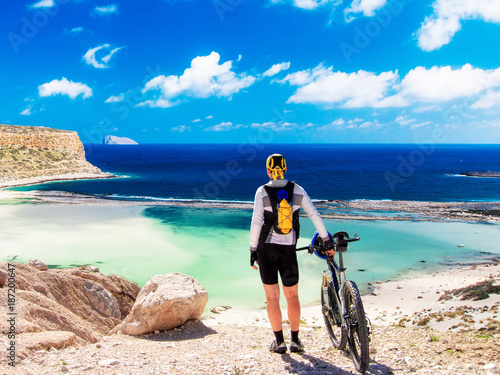 canvas print picture Staunting at Balos Lagoone, Crete