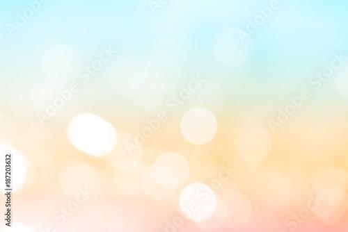 pastelowy kolor bokeh