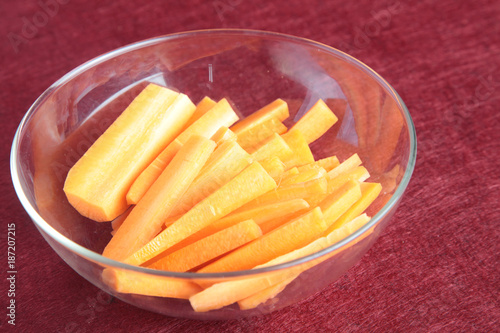 Foto Murales zanahorias